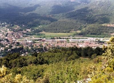 Vista d'Aiguafreda