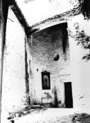 Aiguafreda de Dalt - Entrada a l'església