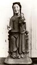 Imatge romànica d'Aiguafreda de Dalt - Desapareguda durant la guerra civil